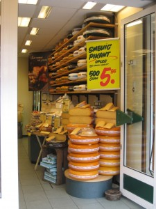 Cheese Store #1, Doorway, Den Haag, Netherlands, March 2008