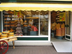Cheese Store #1, Front, Den Haag, Netherlands, March 2008