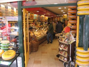 Cheese Store #2, Doorway, Den Haag, Netherlands, March 2008