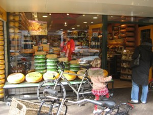 Cheese Store #2, Front Window, Den Haag, Netherlands, March 2008