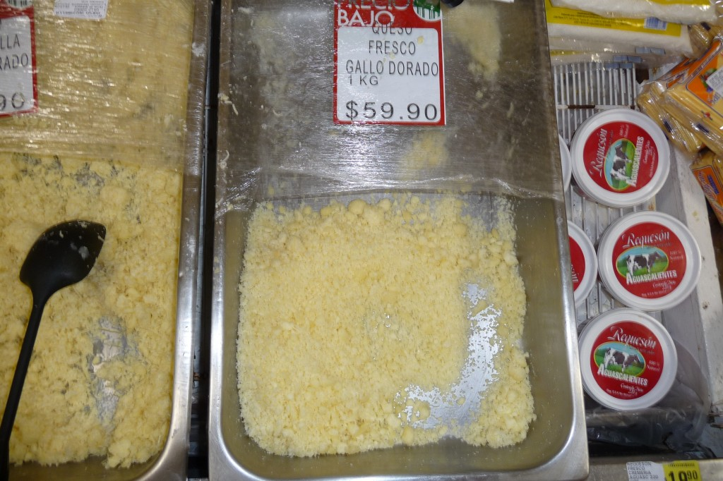 Queso Fresco From Gallo Dorado, Cancun Grocery Store, Yucatan, Mexico, December 2009.