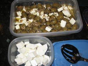 Feta With Garlic, Olive & Olive Oil - CheeseForum.org