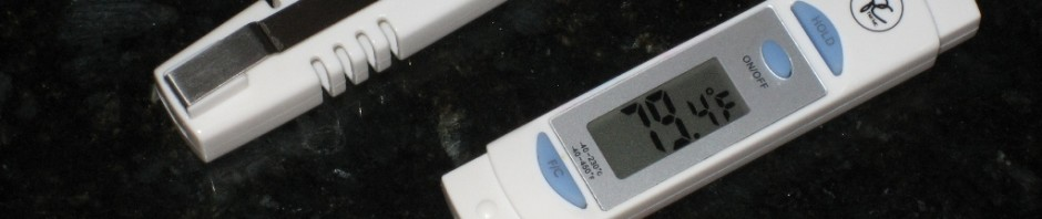 Cheap Uncalibratable Kitchen Digital Thermometer - CheeseForum.org