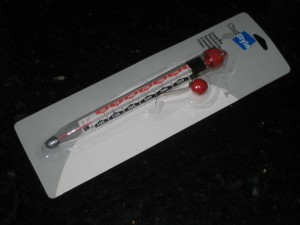 Kitchen Glass & Mercury Candy & Frying Thermometer - CheeseForum.org