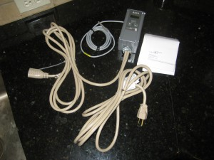 Pre-Wired Johnson Controls Brand Model A419 NEMA 1 Digital Thermostat.