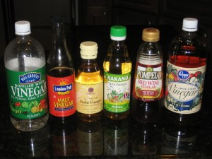 Table Vinegars For Direct Acidification & Coagulation - CheeseForum.org