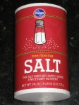US Made Kroger Brand Non-Iodized Free Flowing Kitchen Salt - CheeseForum.org