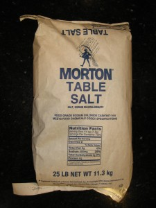 US Made Morton Brand 25 Pound Non-Iodized Salt - CheeseForum.org