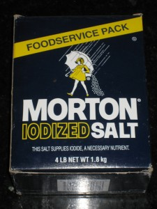 US Made Morton Brand Iodized Salt