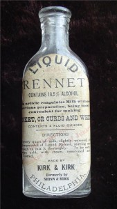 USA Old Kirk & Kirk Rennet Storage Bottle - CheeseForum.org