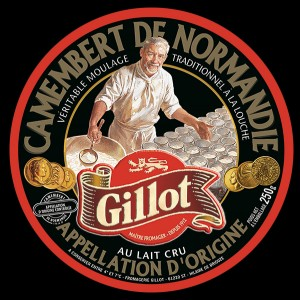 French Gillot Brand Camembert